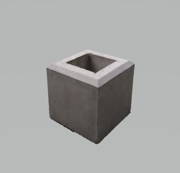 フェンス基礎石200×200×H200