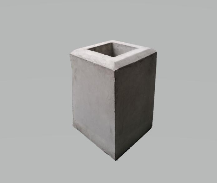 フェンス基礎石200×200×H300