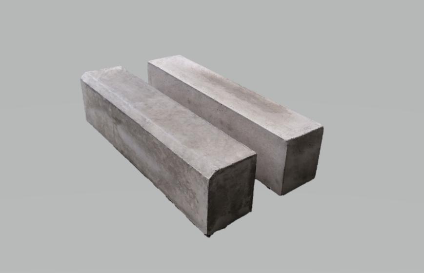 地先境界ブロックB 120×150×600(片面取、面無)
