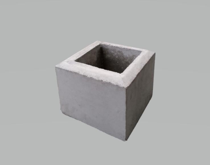 フェンス基礎石250×250×H250