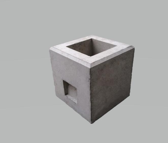 フェンス基礎石300×300×H300