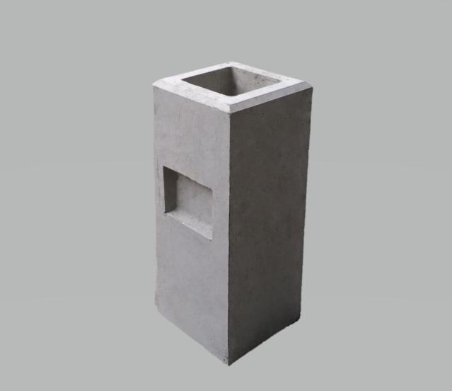 フェンス基礎石180×180×H450