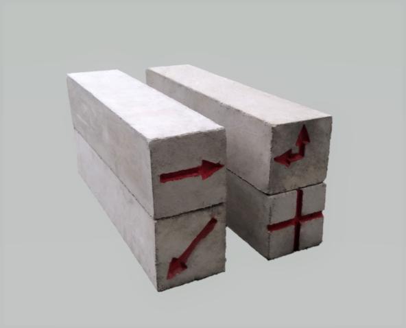 境界石90×90×300